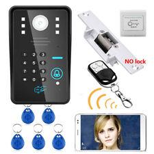 Wireless WIFI Password Video Door Phone Intercom Doorbell+Access Control System
