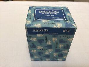 VINTAGE LANVIN ARPEGE EXTRAIT PERFUME #870 1.9 OZ.