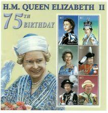 MODERN GEMS - Maldives - Queen Elizabeth 75th - Sheet Of 6 - MNH