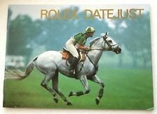 Dates 1992 1993 1994 English! Rolex Datejust Booklet r. 16234 Various