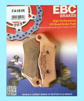 EBC FA181R Pastiglie Freno Anteriore Sinterizzate KTM Excf EXCF250 Exc-F 250