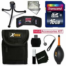 IDEAL 16GB Accessories KIT for SONY Cyber-Shot DSC-W800, DSC-W830, DSC-W810,