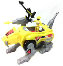 Fisher Price  IMAGINEXT Toys POWER RANGERS Tigerzord robot vehicle & figure set