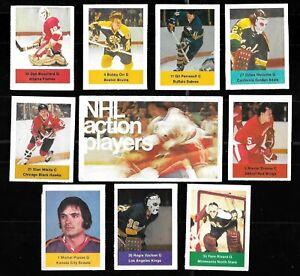 1974-75 LOBLAWS SAVE EASY CAN ACME USA 74-75 NHL HOCKEY STICKER CARD SEE LIST