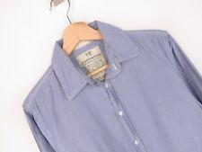 rp2323 Scotch & SODA camicia maglietta originale Premium a righe blu taglia M