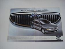 advertising Pubblicità 1993 MAZDA XEDOS 6