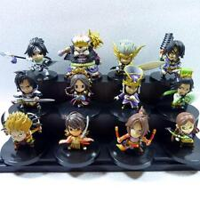 "LOT OF 12 Dynasty Warriors 6 Shin Sangokumusou MINI FIGURE 2"" NEW"