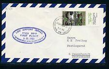 62294) LH FF Israel - Frankfurt 3.11.68, cover Brief