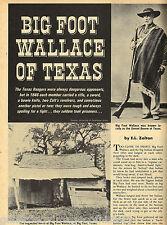 Texas Ranger Edward Dixon Westfall & Big Foot Wallace