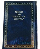 Española Sidur Spanish & Hebrew Siddur, Oración judío libro Orar Kiddush Shabbat