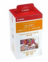 Canon RP-108 4x6 Paper/Ink, 108 Sheets for SELPHY CP820, CP910, CP1200 , CP1300