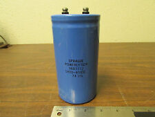Sprague Powerlytic 367712D Electrolytic Capacitor 1800-400DC Made In USA
