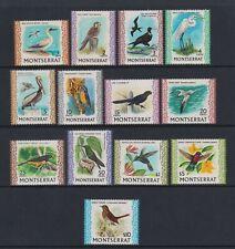 Montserrat - 1970,1c - $10 Oiseaux Ensemble Moins $2.50 Valeur - MNH - Sg