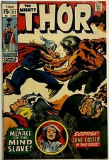 THOR #172 (JAN/1970) (Fine/Very Fine 7.0) White Pages - GLOSSY COVER