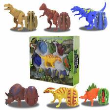 10X Dinosaur Egg Transformer Figures T-Rex Kids Toys Set Christmas Gift Box Pack
