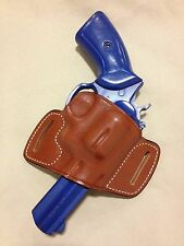 Leather Holster for RUGER GP100 / S&W K or L Frame Revolver  - (6512 Brn)