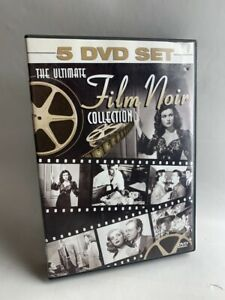 The Ultimate Film Noir Collection rare 5 disc 10 movie DVD BOX SET Hollywood B