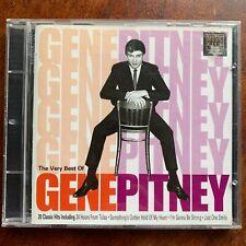 Very Best of Gene Pitney CD Rock Pop Album