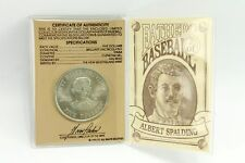 $5 Commemorative Coin Fathers of Baseball ALBERT SPALDING Limited Ed 1992
