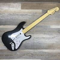 Harmonix Guitar Hero Rock band Fender Stratocaster 19091 Nintendo Wii NO DONGLE