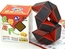 Shengshou 24 parts snake shape cube 3-D spring magic ruler feet puzzle kid's toy