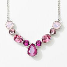 Touchstone Crystal by Swarovski Rose Garden Statement Necklace  New