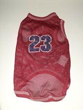 New listing Cute Puppy Boy Dog Small Breed Basketball Jersey