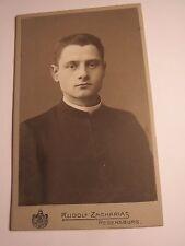 Regensburg 1910-1911 Joseph Stadler - Cooperator in Gebenbach - Portrait / CDV
