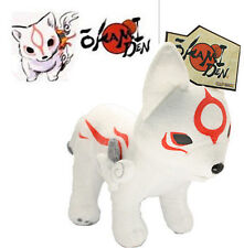 "Okami Okamiden Amaterasu's son Soft plush stuffed doll celestial wolf puppy 12"""
