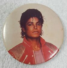 "MICHAEL JACKSON 'Beat It"" Button Pin VINTAGE 1984 MJ"