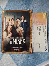 """Moliére's Classic Comedy THE MISER"" Programme, used ticket West End Theatre"