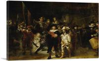 ARTCANVAS The Night Watch 1642 Canvas Art Print by Rembrandt van Rijn