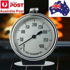 Stainless Steel Baking Oven Thermometer Kitchen Food Meat Cooking 0-400 ℃ AU