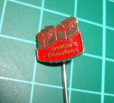 Swart banket Helmond - pin badge vtg 60s anstecknadel speldje