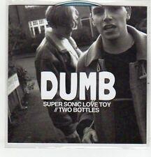 (EQ989) Dumb, Super Sonic Love Toy - DJ CD