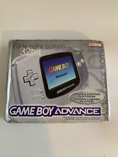 Nintendo Gameboy Advance Limited Edition Platinum Silver Boxed