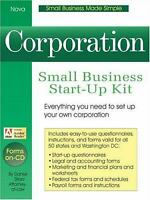 Corporation : Small Business Start-up Kit by Sitarz, Daniel