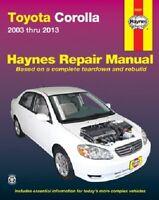 Repair Manual-S Haynes 92037 fits 2009 Toyota Corolla