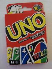Mattel Uno Card Game with Wild Cards Great Family Fun New!