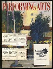 Camping with Henry&Tom 1996 Pasadena Playhouse Ronny Cox, Prosky Program Tickets