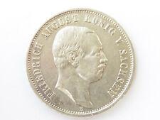 L567       SACHSEN 3,- Mark 1908