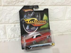 NEW  very RARE Hot Wheels 1/50 Custom CLASSICS 62 Pontiac Bonneville from Japan