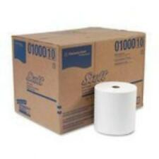 Kimberly-Clark 01000 Scott High-capacity Hard Roll Towels, 8 X 1000', White,