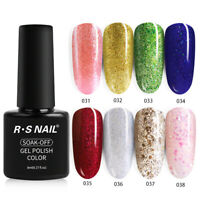 New Arrival RS NAIL Gel Nail Polish UV LED Soak off Varnish All 40 Colors 8g