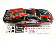 NEW TRAXXAS 1/16 E-REVO Body Painted Red Trim RE6R