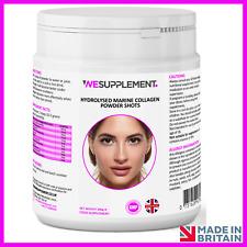 Hydrolysed Marine Collagen Peptides Powder Hyaluronic Acid, Biotin, Vitamin C