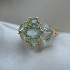 2.21ct Certified Paraiba Tourmaline & Diamond Gold Ring
