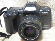 RICOH XR-X PROGRAM SLR Film Manual Camera + RIKENON 35-70mm F/3.4-4.5 Lens MACRO