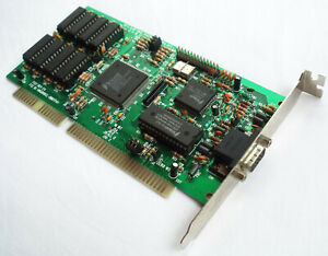 Trident 8900D 1MB ISA Graphics Card