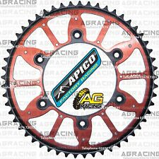 Apico Xtreme Red Black Rear Alloy Steel Sprocket 53T For Honda CRF 450R 2009 MX